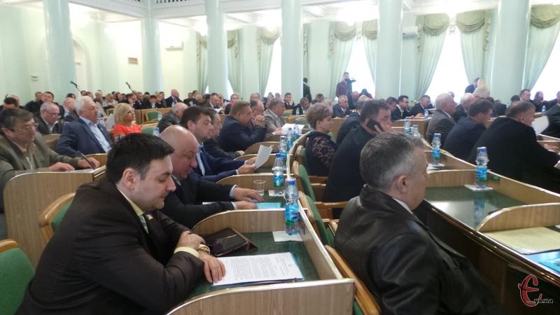 Депутати проголосували за проект об'єднання громад