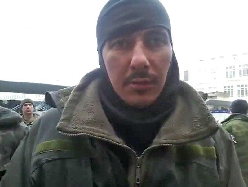 Олександра Михайлюка полонили 21 січня разом з іншими бійцями, які захищали донецький аеропорт