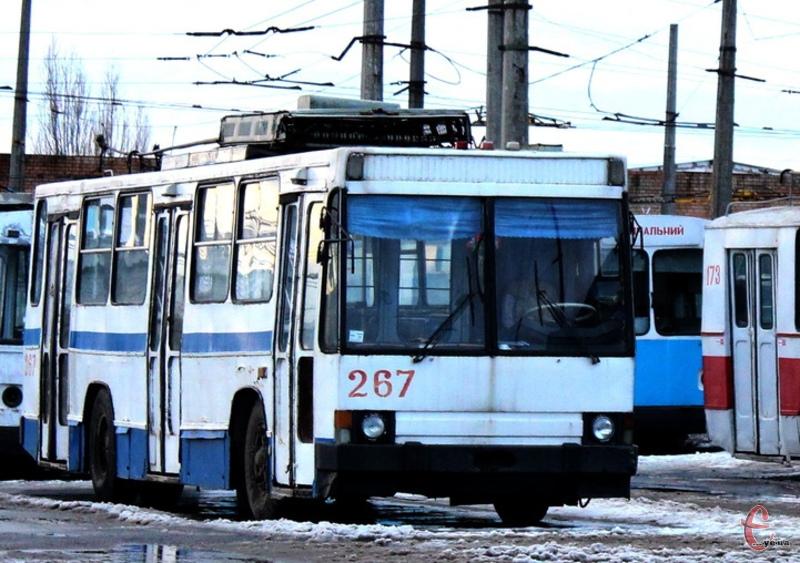 Змінять маршрути тролейбуси  №№ 8а, 11, 11а 12, 17