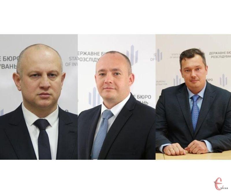 Сергій Палатов, Сергій Кушнір та Олександр Лисий (з ліва на право)