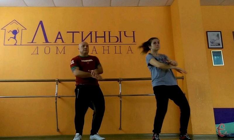 Вадик Собко: Я намагаюся повторювати за тренером усі рухи