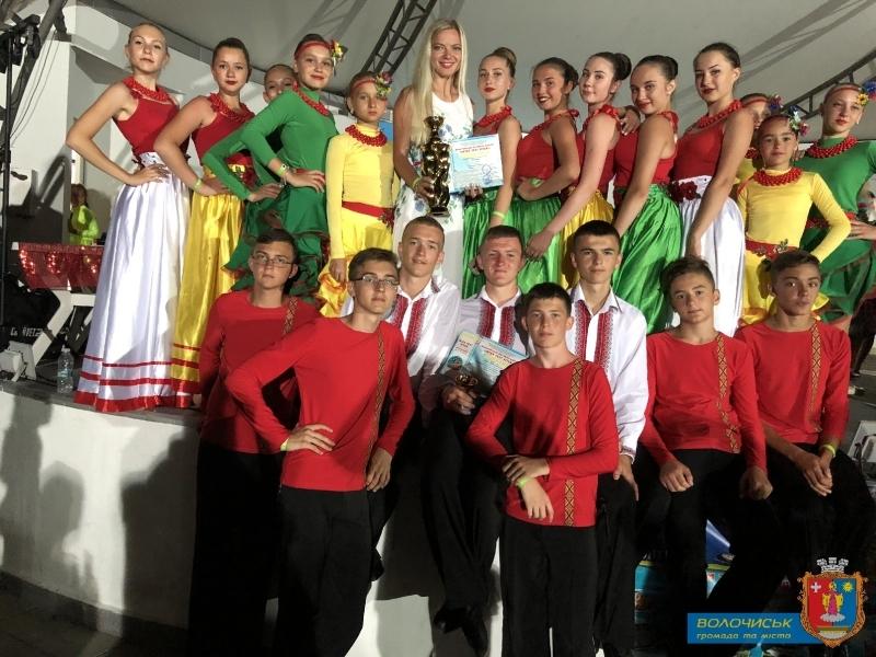 Дитячі хореографічні колективи Волочиської ОТГ презентують культуру не лише на теренах держави, а й за її межами