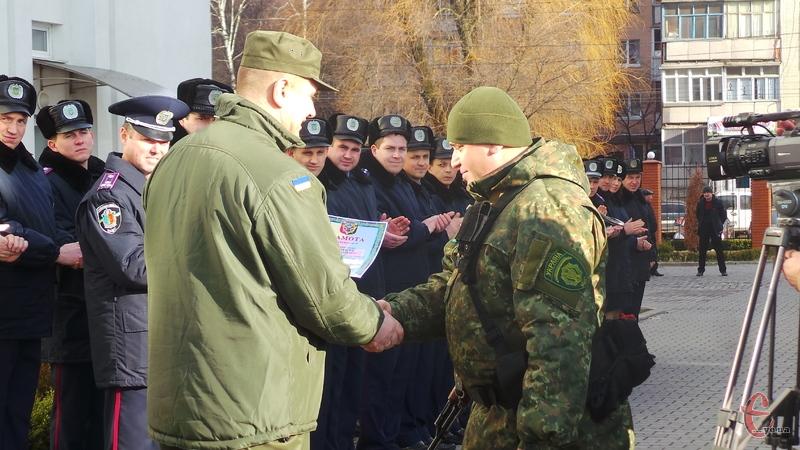 Бійців відзначили грамотами і подяками за хорошу роботу