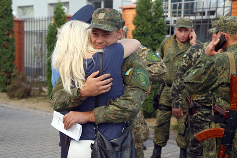 Бійці забезпечували охорону громадського порядку на Донеччині