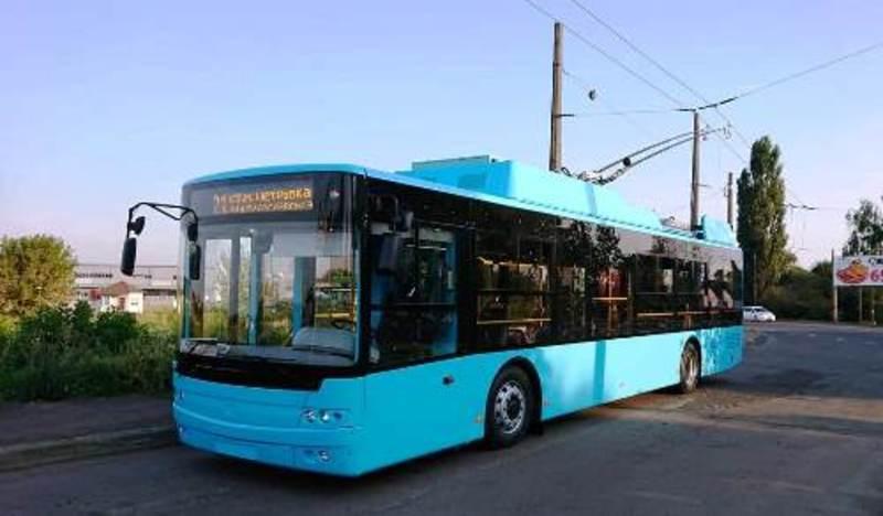 До Хмельницького вже прибули перші тролейбуси «Богдан»