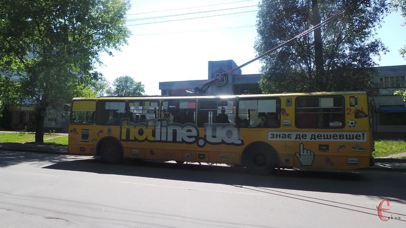 Тролейбуси обладнають GPS-модулями та системами обліку пасажирів