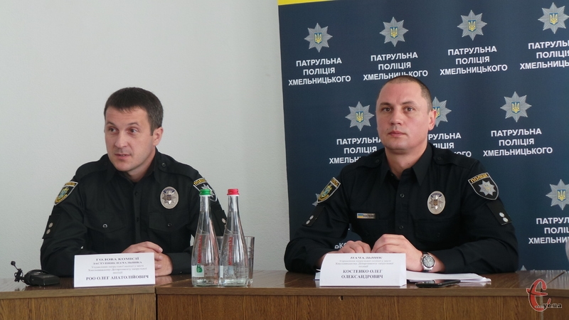 У Хмельницькому знову шукають патрульних поліцейських