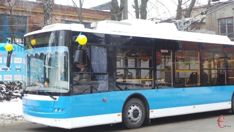 Кількість нових тролейбусів збільшуватиметься