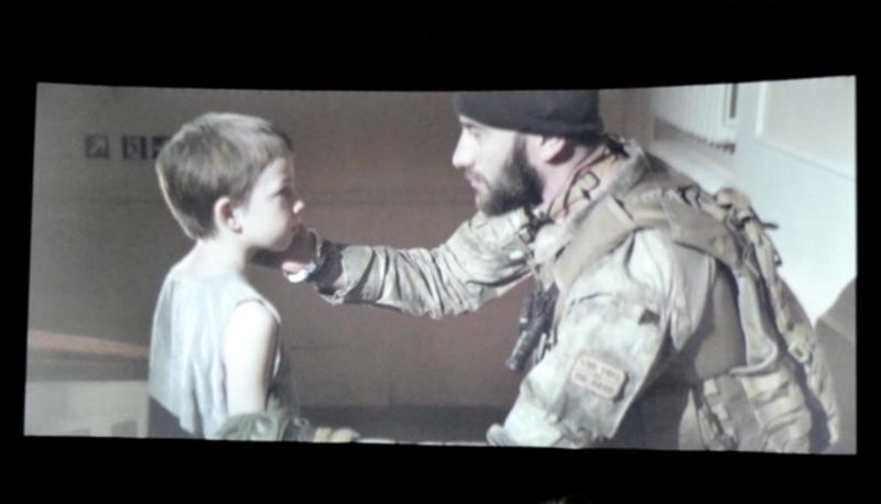 Олександр Абаєв зіграв у фільмі загиблого бійця, який дорогою до Бога зустрів свого ненародженого сина.