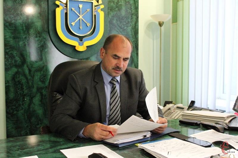 Василь Птащук каже, що з Хмельницьким районом він добре знайомий, а тому роботи в нього вистачатиме