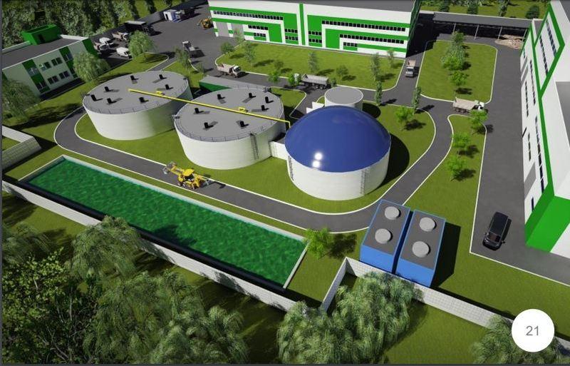 На сміттєпереробному заводі діятиме енергетичний комплекс, який перетворюватиме побутові відходи на теплову та електричну енергію