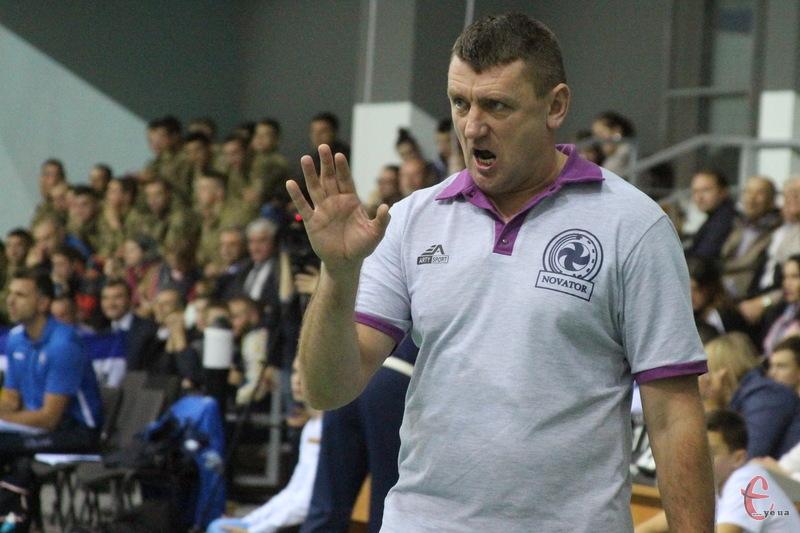 Роман Ковальчук, головний тренер ВК \