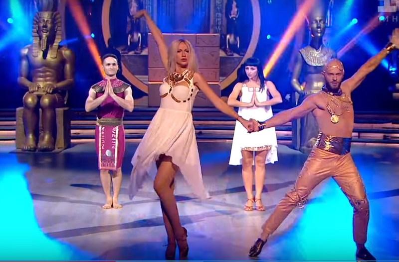 Леся Нікітюк танцювала із Владом Ямою