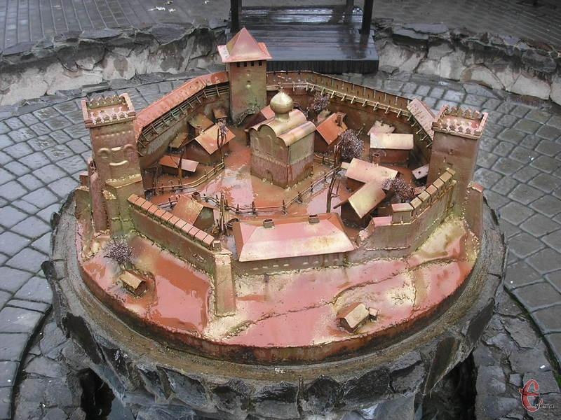 Луцький замок у мініатюрі