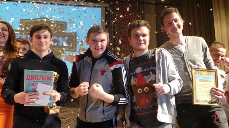 У фіналі КВН Ліги Поділля перемогли хлопці з Тернополя