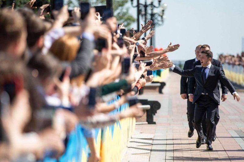 Володимир Зеленський офіційно став шостим президентом України