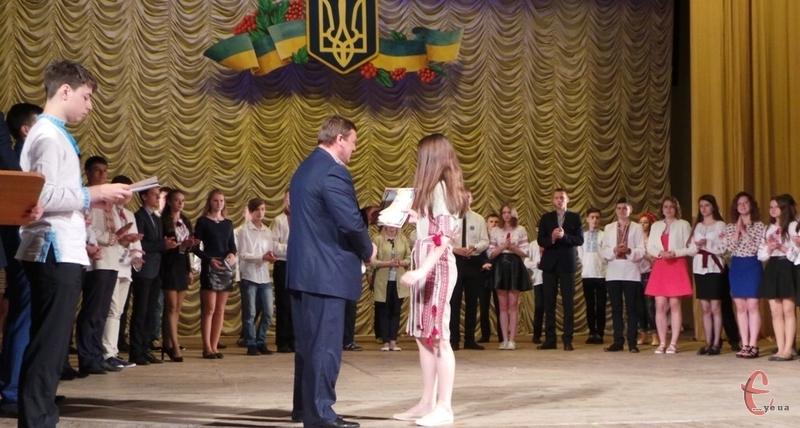 Переможців Малої академії наук нагородили дипломами та пам'ятними медалями