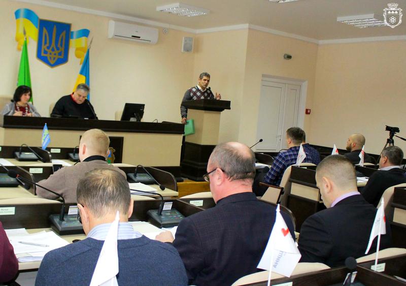 За текст звернення проголосувало 19 присутніх на сесії депутатів
