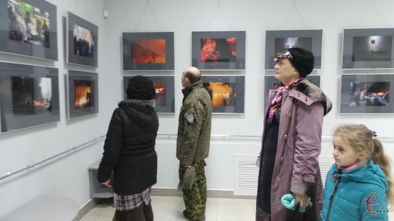 До Дня Героїв Небесної Сотні у музеї-студії фотомистецтва відкрили виставку фотографій Мстислава Чернова