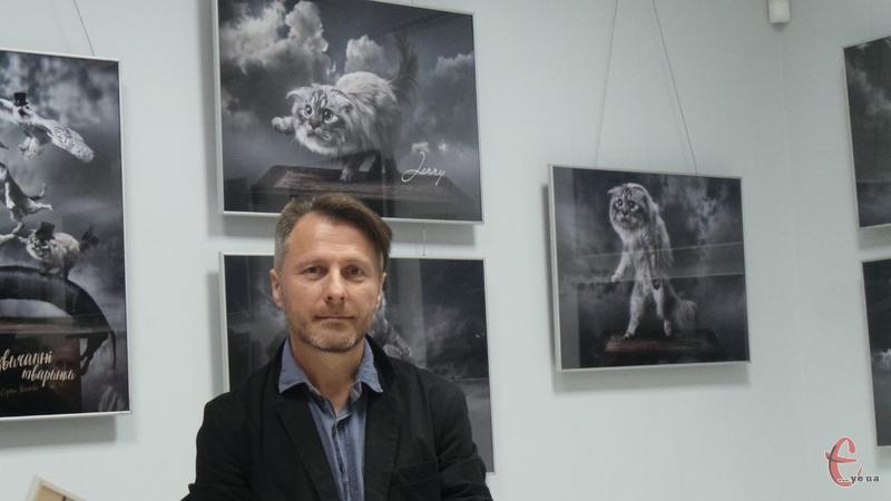 Сергій Іванов презентував свою нову фотовиставку, присвяену домашнім тваринам