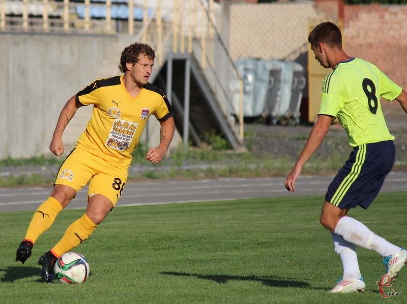 Олександр Алієв у Хмельницькому забив один гол
