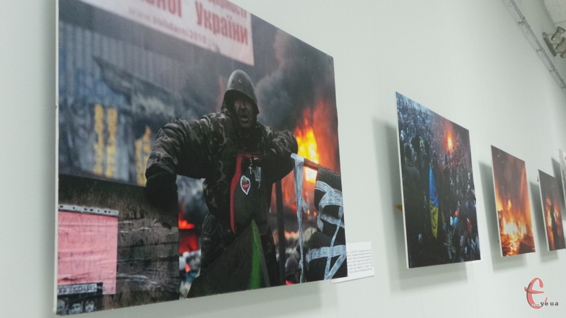 На виставці представлений останній рік життя Віктора Гурняка
