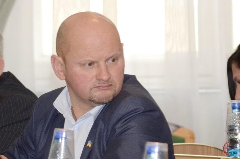 Михайло Бойко - новий керівник фракції Батьківщини в Хмельницькій обласній раді