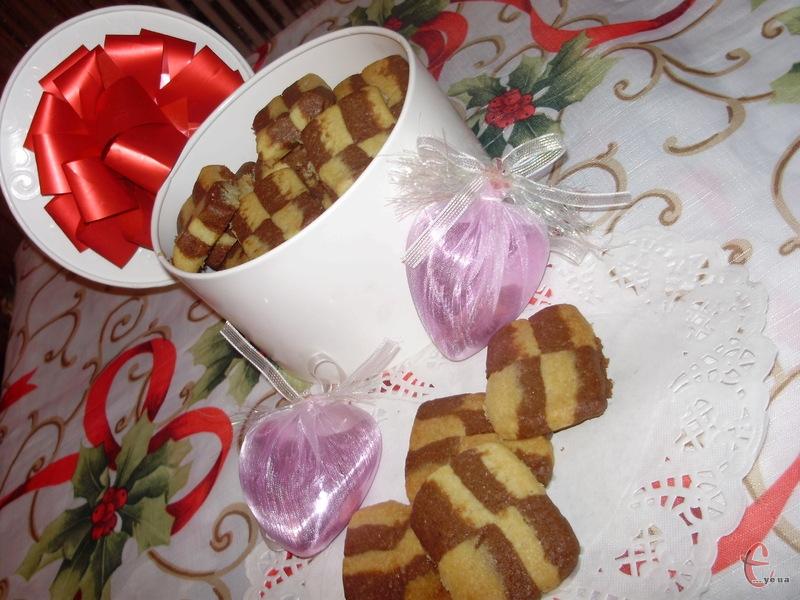 Дуже смачне французьке печиво в клітинку зі звичних українських інгредієнтів