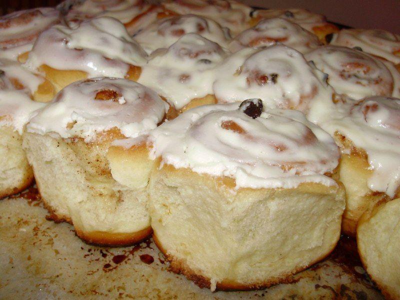 Подавати булочки сіннабон теплими, так вони смакують найкраще. Хоча і в холодному вигляді вони пречудові!