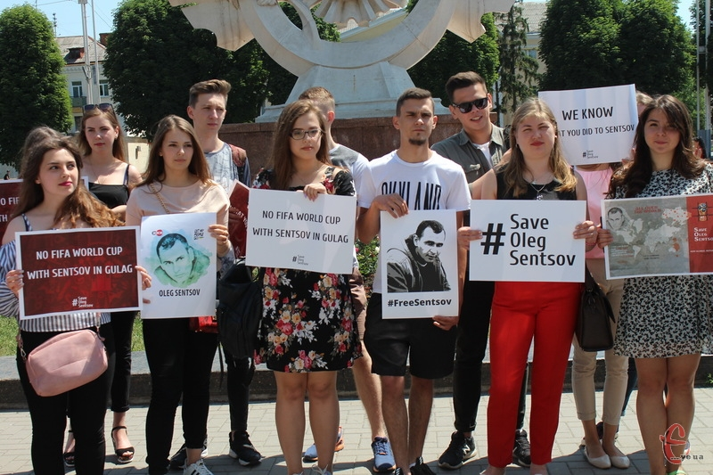 Хмельничани приєдналися до акції #FreeSentsov