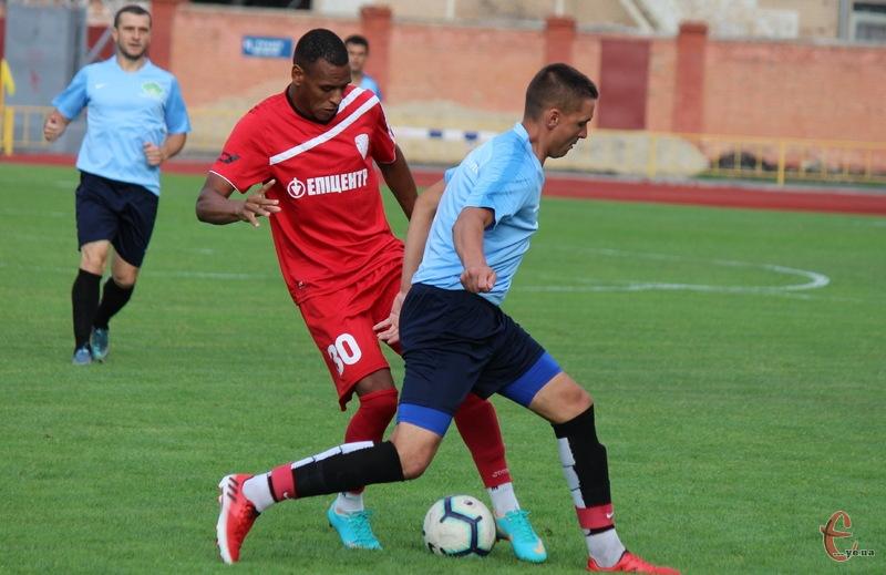 Барбоса да Сілва забив один гол у першому контрольному матчі Епіцентру