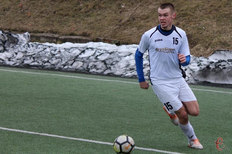 Арсен Слотюк став автором першого голу
