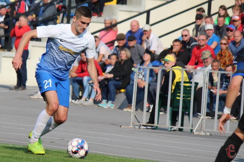 Ігор Бойчук забив переможний гол для Агробізнеса в матчі проти Інгульця