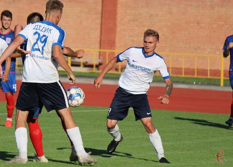 Роман Гагун став автором двох голів у матчі Агробізнеса проти Кристала