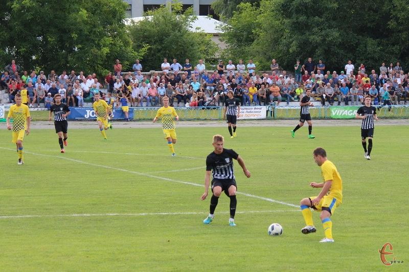 Волочиський стадіон Юність вперше прийме команду Прем'єр-ліги України