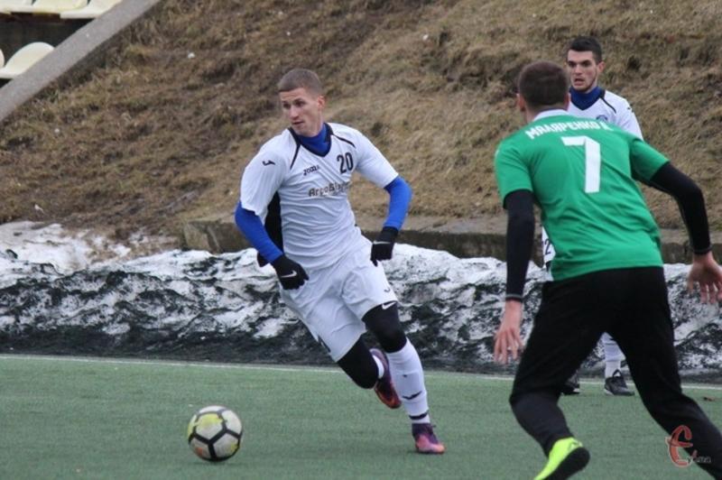 Олег Нечипоренко, ексгравець Агробізнеса, забив два голи за Епіцентр у матчі проти швейцарців