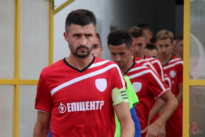 Руслан Івашко в матчі проти