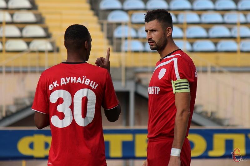 Капітан ФК Епіцентр Руслан Івашко в матчі з Рубіконом забив два голи