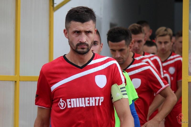 Руслан Івашко в грі проти Волині-2 відзначився двома голами та результативнью передачею