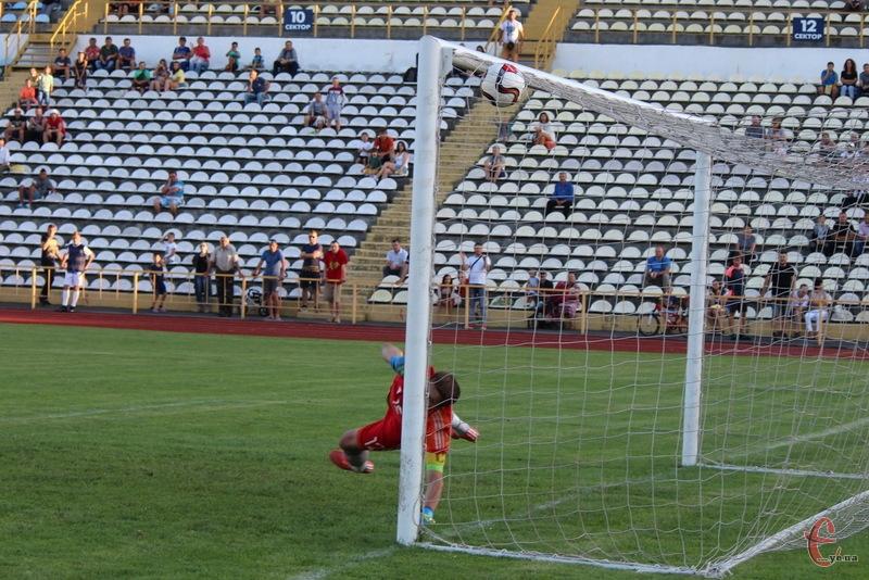 Поділля двічі вразило ворота ФК Тернопіль