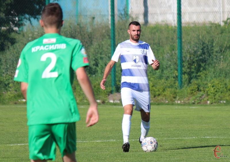 Олександр Воловик через 12 років повернувся до хмельницького Поділля в якості граючого тренера