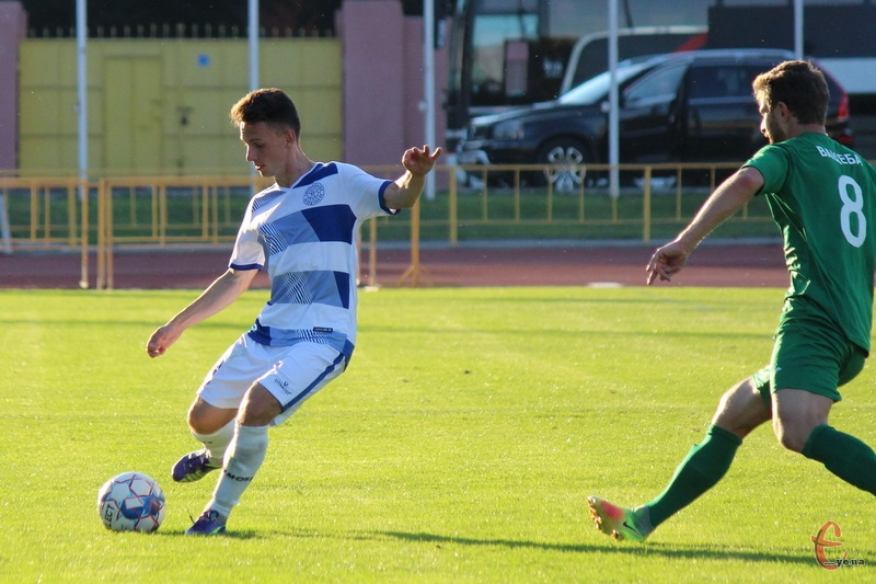 Кирило Костенко став автором першого голу Поділля в новому чемпіонаті України з футболу в другій лізі