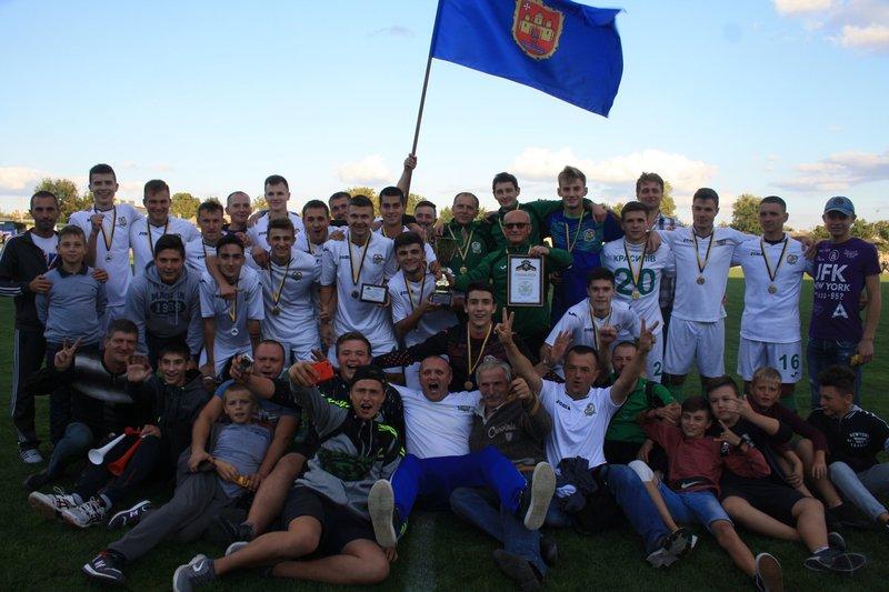 Красилівський Случ - володар Кубка Хмельницької області з футболу