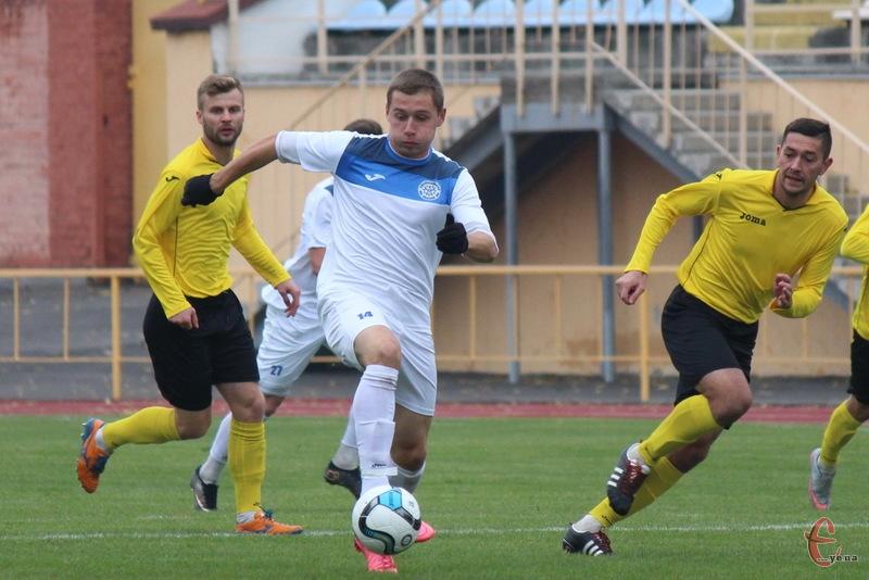 Артем Макарченко забив у першості U-19 у ворота Тепловика, але цього було недостатньо