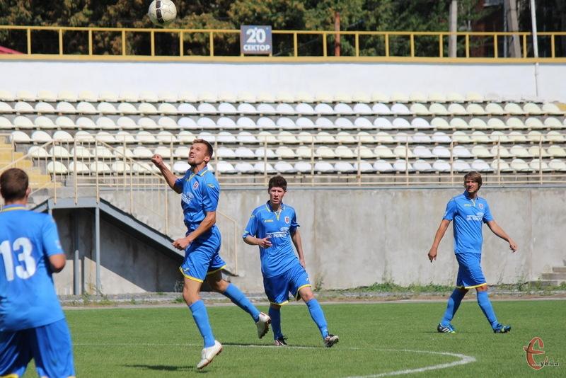 Случ із Старокостянтинова втратив свої перші очки в чемпіонаті області з футболу