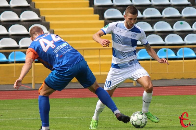 Владислав Прильопа в контрольному матчі проти вінницької Ниви відзначився забитим голом
