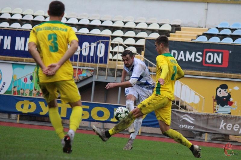 Віталій Каверін у матчі проти Карпат із Галича не лише забив гол, але й по суті став співавтором другого м\'яча у ворота Вульчина