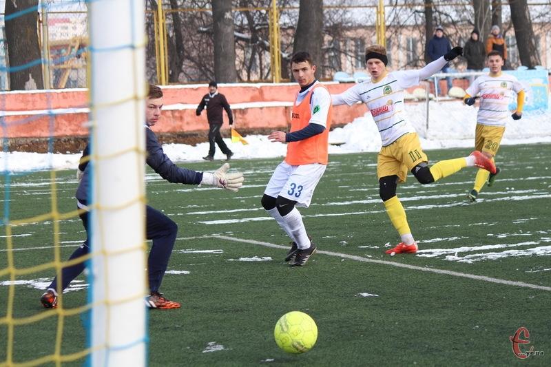 Тернопільска Нива забила хмельницькому Поділлю чотири голи, два з яких на рахунку Ігоря Гатали