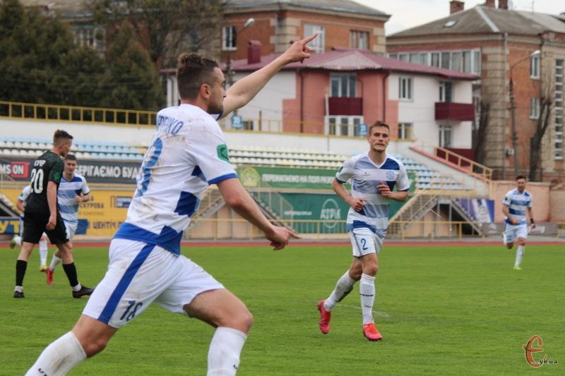 Ігор Карпенко забив свій 5 гол у складі Поділля, зігравши лише в 7 матчах