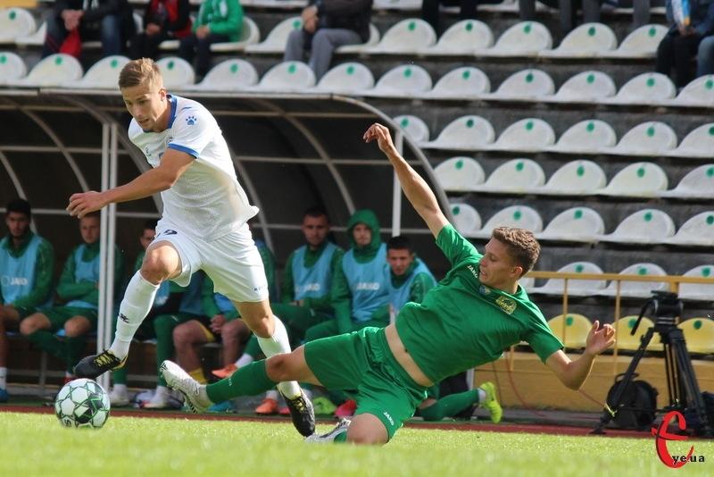 Денис Островський забив свій четвертий гол у складі Поділля в цьому чемпіонаті